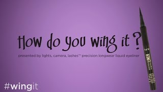 how do you wing it?