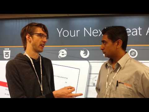 HTML5 Dev Conf 2014 - Chrome - Interview with Tom Wiltzius from Google