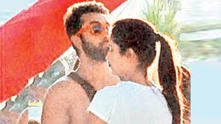 Ranbir Kapoor&Katrina Kaif CAUGHT KISSING