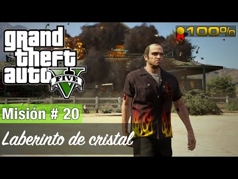 Video Grand Theft Auto 5 - Misión #20 - Laberinto de cristal (Medalla de Oro / 100%) download in MP3, 3GP, MP4, WEBM, AVI, FLV January 2017