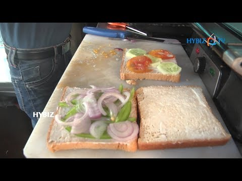 , Veg Sandwich Recipe Indian