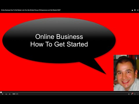 Online Business How To Get Started -Join Our Like Minded Group of Entrepreneurs and Get Started ASAP