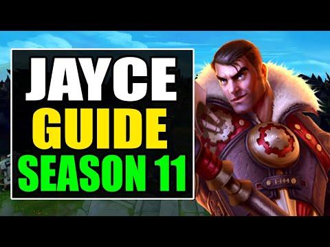 HOW TO PLAY JAYCE TOP SEASON 11 - (Best Build, Runes, Gameplay) - S11 Jayce Guide & Analysis