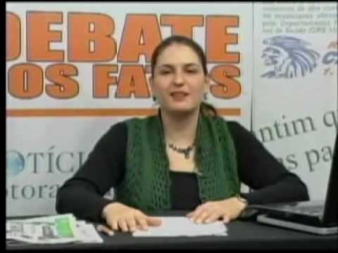 Debate dos Fatos na TV Votorantim 01/06/2012