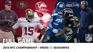 2013 NFC Championship: San Francisco 49ers vs. Seattle Seahawks | NFL Full Game by NFL