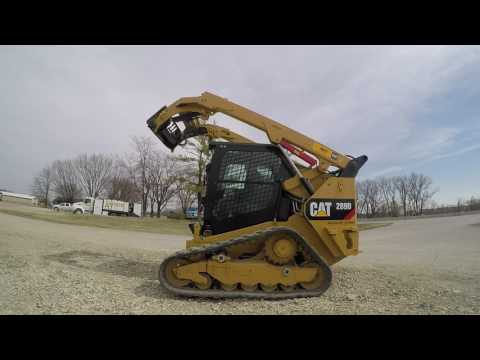 CATERPILLAR MINICARGADORAS 289DXPS2CA equipment video 3G2bdfhILP0