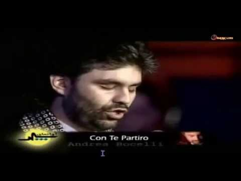 , title : 'Andrea Bocelli - Con te Partiro - Subtitles English - SD & HD'
