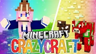 Hello. | Ep 1 | Minecraft Crazy Craft 3.0