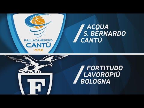 Serie A 2020-21: Cantù-Fortitudo Bologna, gli highlights