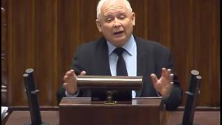 """""""DONALD TUSK"""" skandowanie podczas przemówienia prezesa!"""
