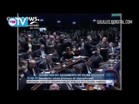 El Senado brasileño destituye a Dilma Rousseff como presidenta del país
