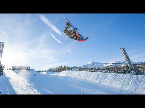 How Chloe Kim Made The PyeongChang 2018 Olympic Halfpipe Snowboard Team (видео)