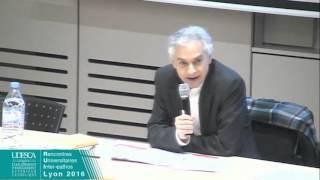 Conférence de clôture  PY Gomez & E Gabellieri