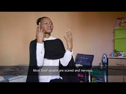Episode Three: Meet Sindiswa Mtolo, Deaf Barista Candidate -