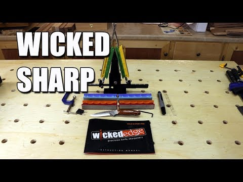 WICKED EDGE Field and Sport Pro Sharpener Review (видео)