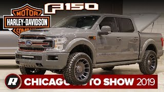 First look: New Harley-Davidson Ford F-150   Chicago 2019 by Roadshow