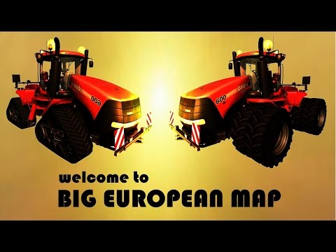 Big European Map v3.0