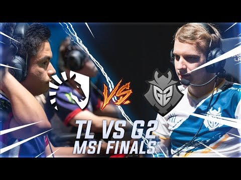 G2 vs TL - MSI 2019 FINALS - Europe takes North America apart on stage
