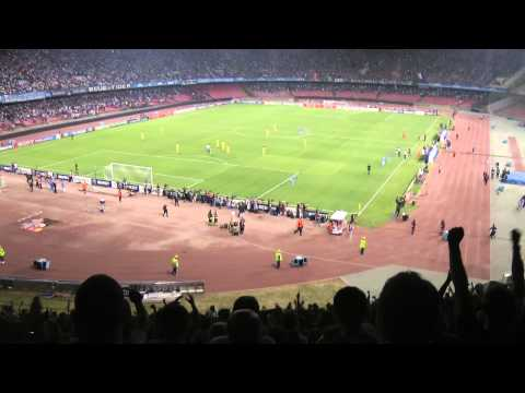 hamsik goal villareal - champions league 2011/2012