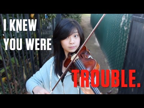 Taylor Swift – I Knew You Were Trouble (Violin/Piano Cover)