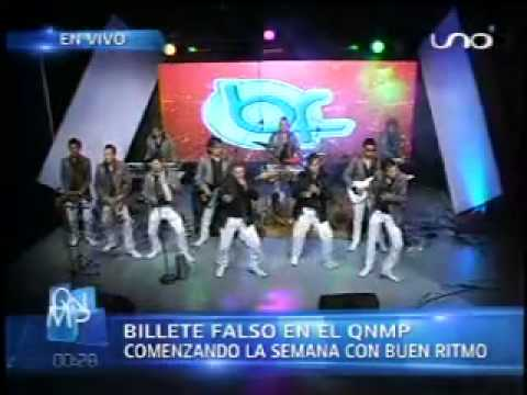 BILLETE FALSO - NO VUELVAS - EXITO 2013 (en vivo QNMP)