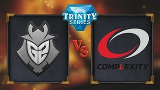 Hearthstone - G2 Esports vs CompLexity - Trinity Series: Season 2 - Day 1