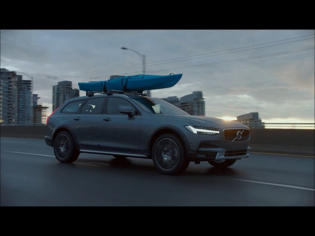 The New Volvo V90 Cross Country