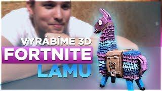 3D FORTNITE LOOT LLAMA