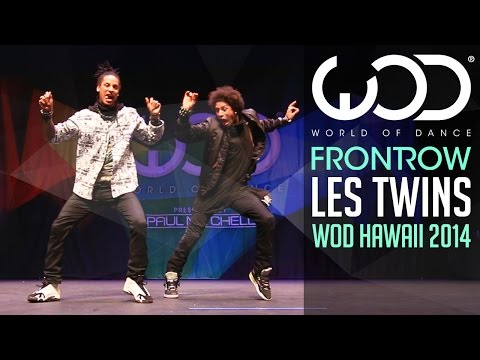 Les Twins | FRONTROW | World of Dance 2014 #WODHI (видео)
