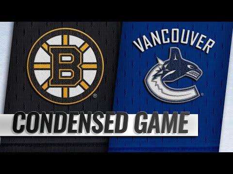 Video 10/20/18 Condensed Game: Bruins @ Canucks download in MP3, 3GP, MP4, WEBM, AVI, FLV January 2017