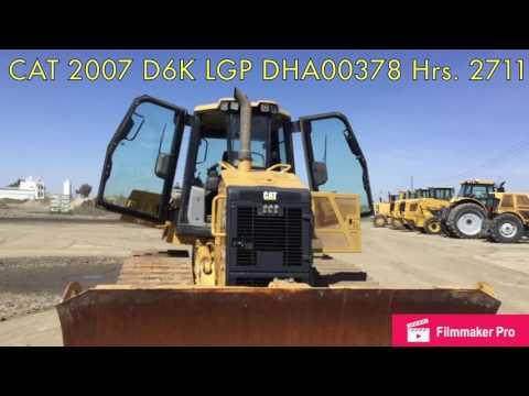 CATERPILLAR TRACK TYPE TRACTORS D6K LGP equipment video 3GOrp6c_UVQ