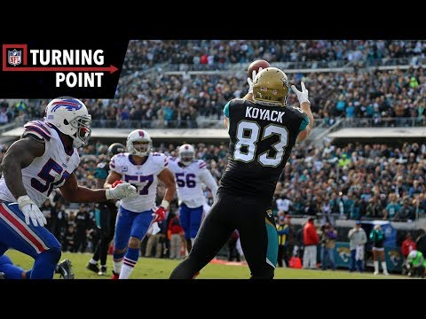 Video: Bortles 4th and Goal Touchdown is Key in Defensive Struggle (Wild Card) | NFL Turning Point