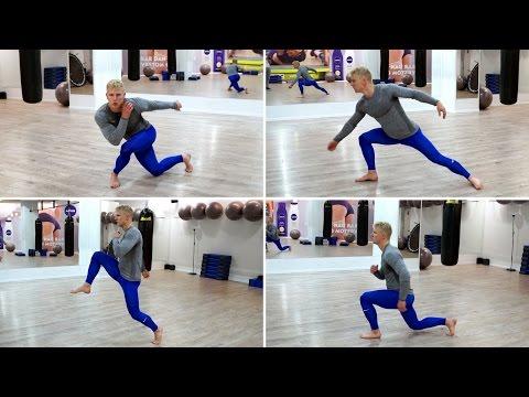 【下半身強化&股関節の機能性向上】ランジトレーニング20種目