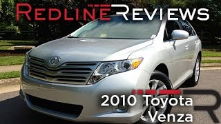 2010 Toyota Venza Review, Walkaround, Exhaust&Test Drive