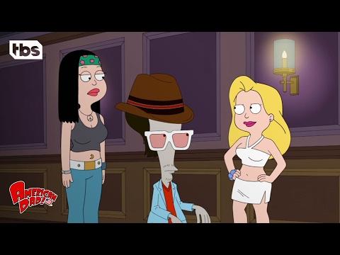 American Dad: Hailey's Dance Off (Season 10 Episode 4 Clip)   TBS