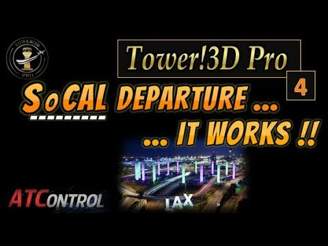 Tower! 3D Pro -- EP #4 ::: SoCAL Departure.....IT WORKS !!! (видео)