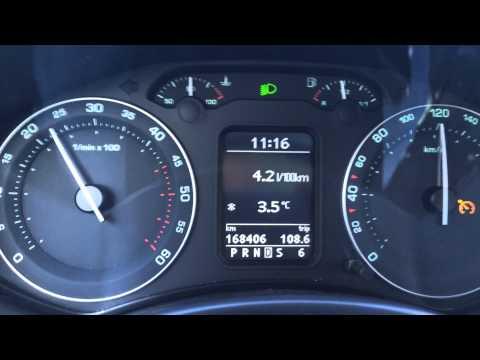 Skoda octavia 2007 2.0 расход топлива снимок