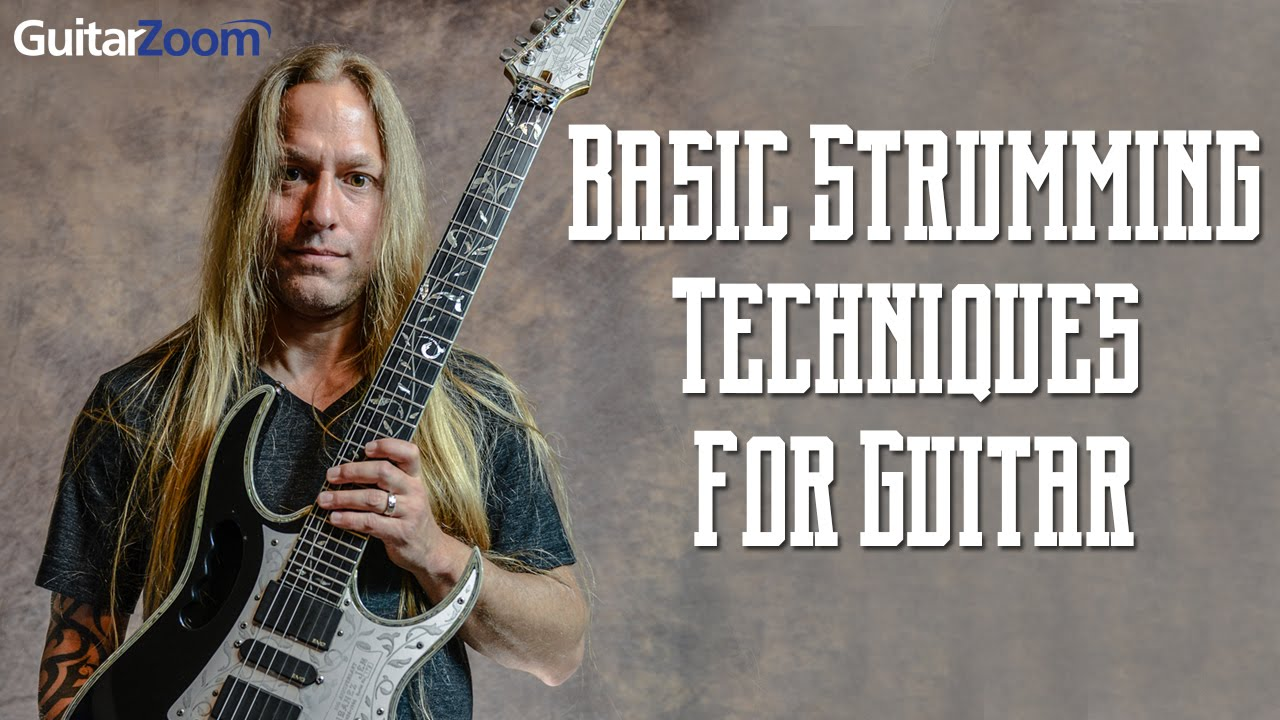 Basic Strumming Techniques For Guitar | Steve Stine | Guitar Zoom