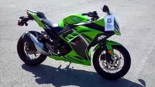 8. 2014 Kawasaki Ninja 300 ABS Special Edition In Lime Green