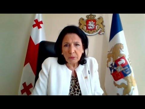 Η πρόεδρος της Γεωργίας στο euronews