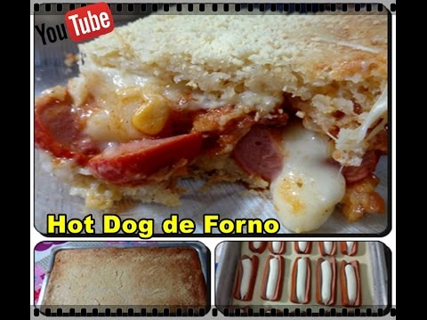 Hot Dog de forno