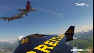 Người phản lực' đua tốc độ cùng máy bay ném bom