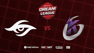 Team Secret vs  Keen Gaming, DreamLeague Season 11 Major, bo3, game 2 [Adekvat & Mortlales]