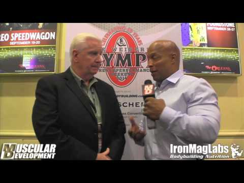 2014 Mr. Olympia   Shanw Ray and Peter McGough review the Press Conference