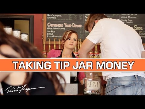 Taking - In this shocking public prank, Rich Ferguson boldly pays for food with servers tips… but there's a happy ending, purpose and message hidden in it. For more fun pranks and social experiments,...