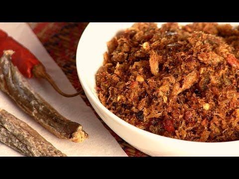 How To Make Dry Fish Chutney By Gitika