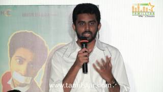 Director Balaji Mohan at Vaayai Moodi Pesavum Press Meet