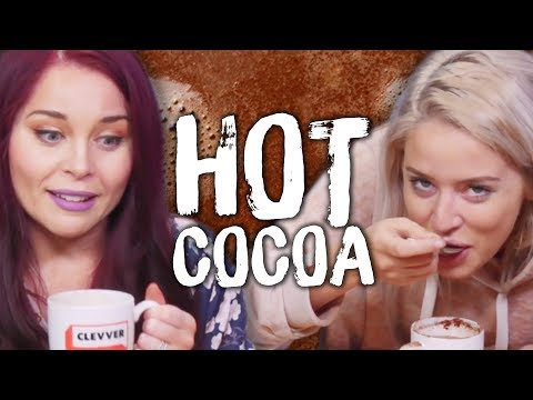 4 CRAZY Hot Chocolate Flavors! (Cheat Day Christmas Special)
