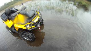 8. 2013 Can Am Outlander Max 1000 XT, break in ride #1
