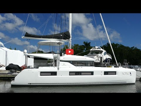 Walkthrough of the new Lagoon 50 catamaran